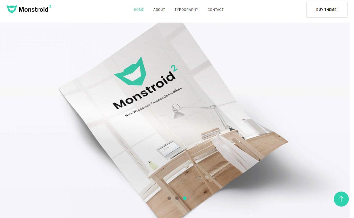 Monstroid2 Lite - Free WordPress Blogging Theme