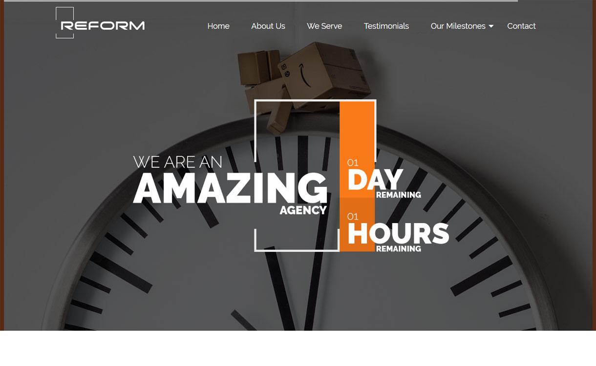 reform premium business wordpress theme - 30+ Best Premium WordPress Business/Agency Themes for 2019