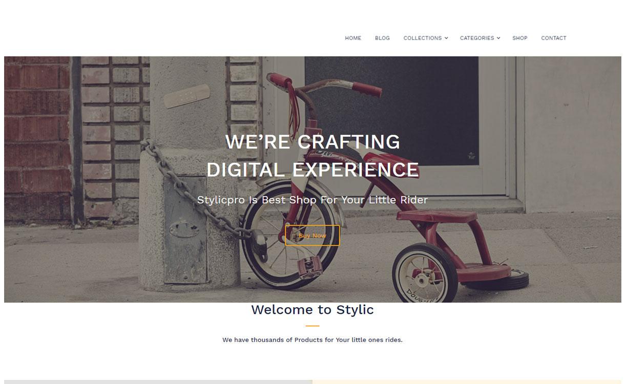 Stylic - Free Multipurpose WordPress Theme