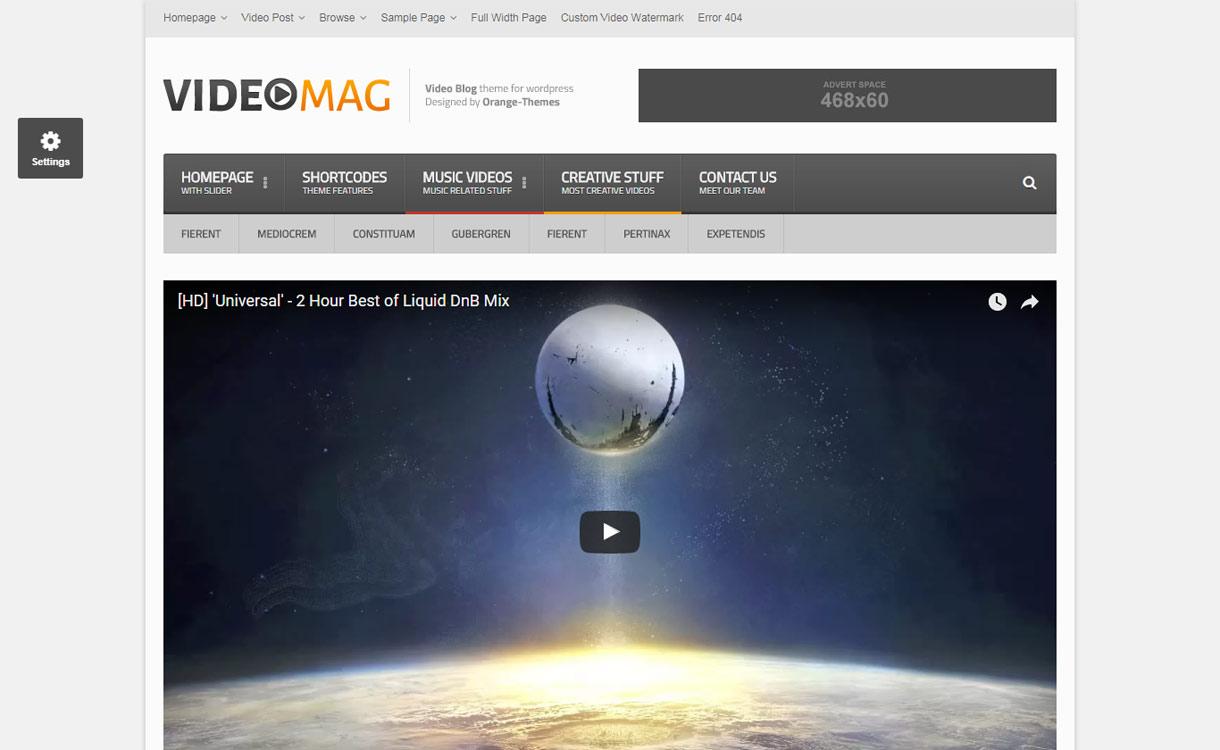 Videomag - Best Video WordPress Theme