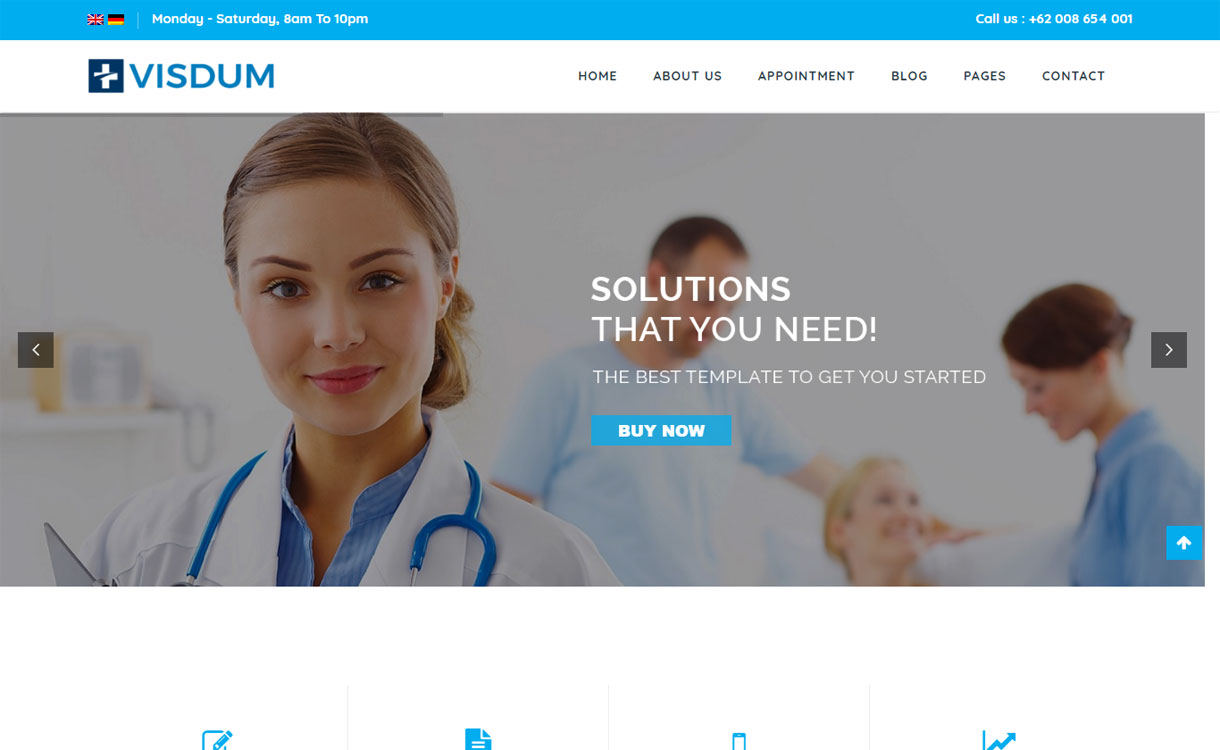 Visdum - Premium Multipurpose WordPress Theme