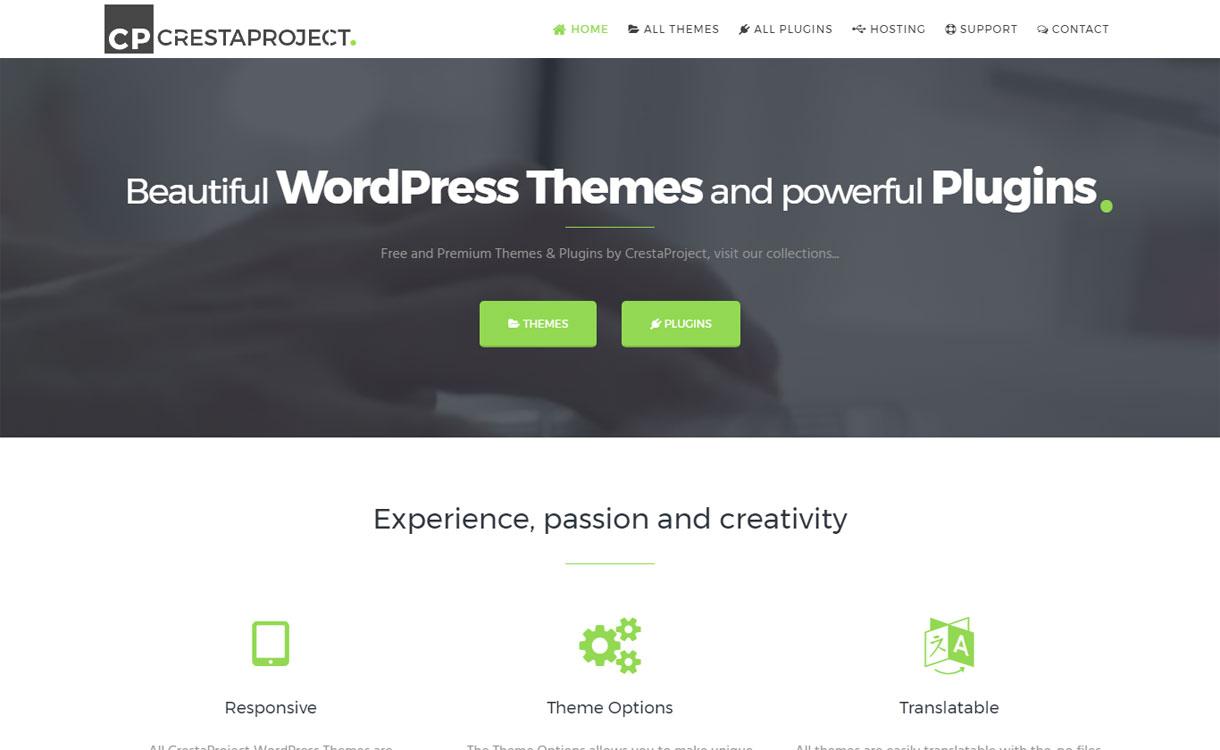 CrestaProject - Modern WordPress Theme Store