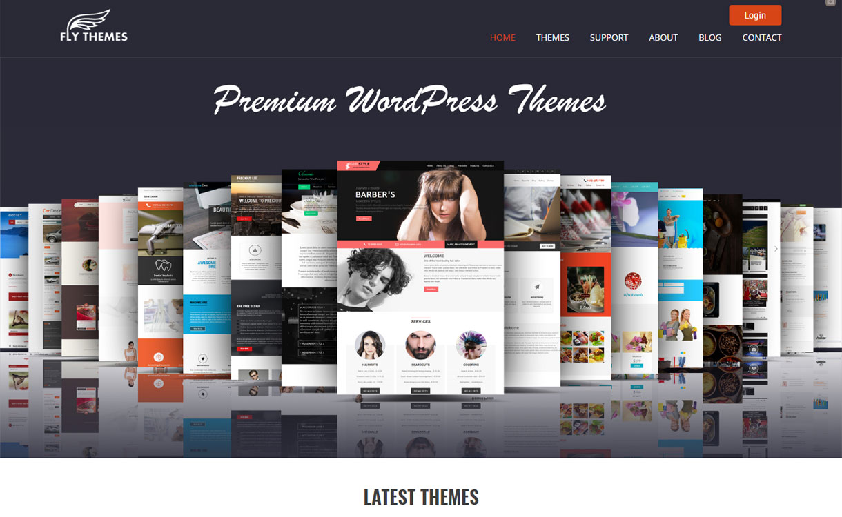 FlyThemes - Beautiful WordPress Theme Store