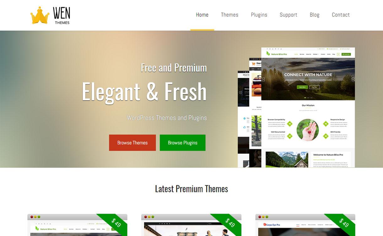 WEN Themes - Stunning WordPress Theme Store