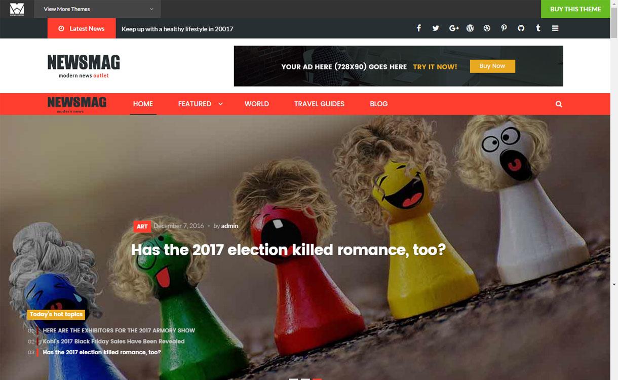 NewsMag Pro - Premium Magazine WordPress Theme