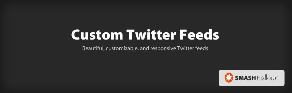 Custom Twitter Feed - Top 5 Free Twitter Feed WordPress Plugins
