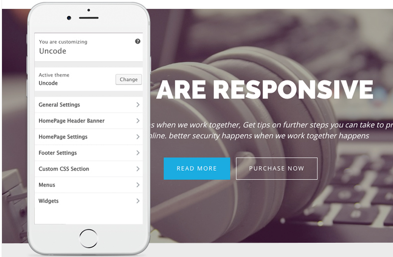 Uncode Lite - Free WordPress Business Theme
