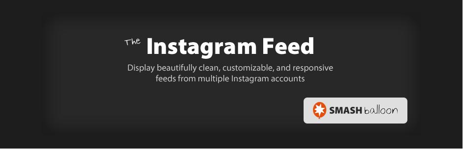 Instagram Feed - Free WordPress Plugin