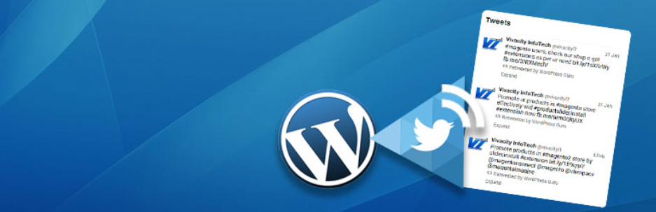 WP Twitter Feed - Top 5 Free Twitter Feed WordPress Plugins
