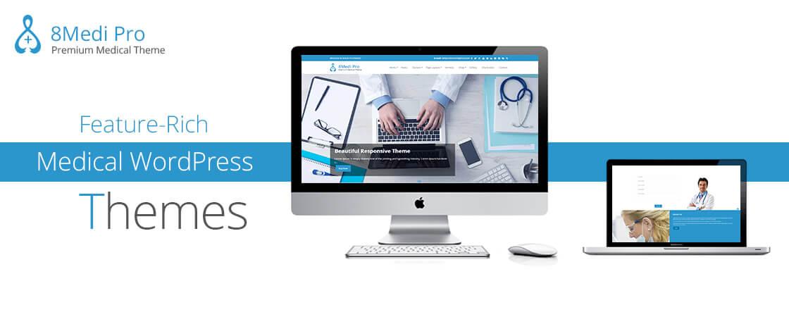 EightMedi Pro - WordPress Medical Theme