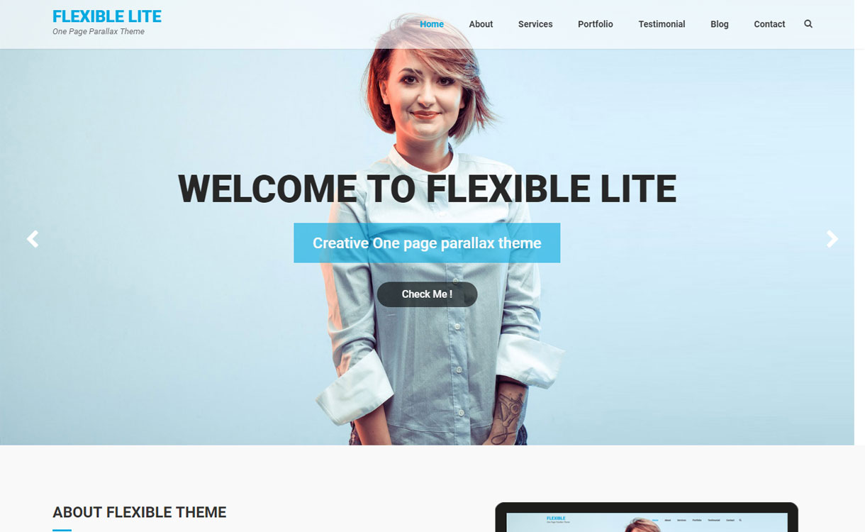 Flexible Lite - Free Multipurpose WordPress Theme