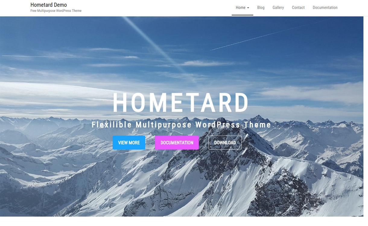 Homeyard - Free Multipurpose WordPress Theme