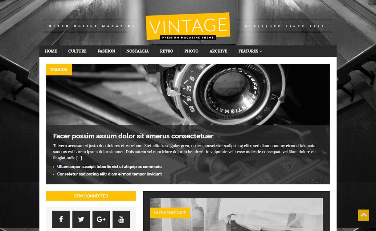 MH Retromag - Beautiful Magazine WordPress Theme