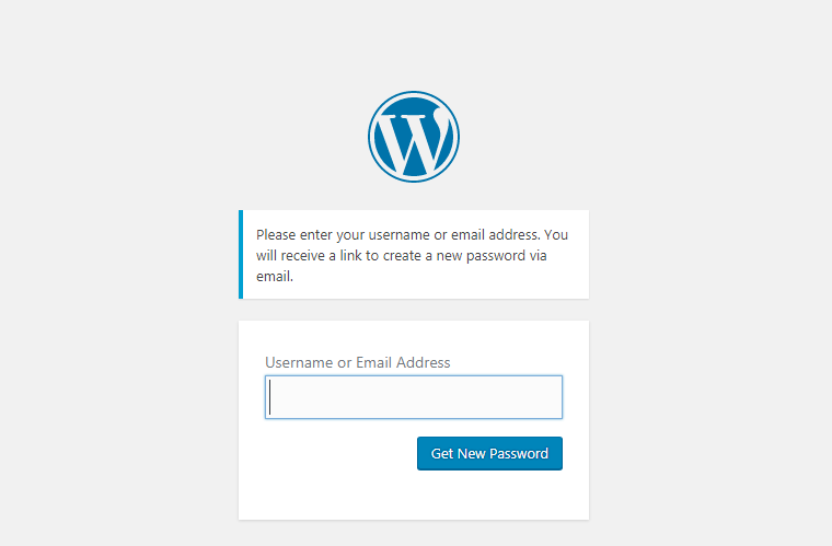 how to recover WordPress password - How to recover lost WordPress password