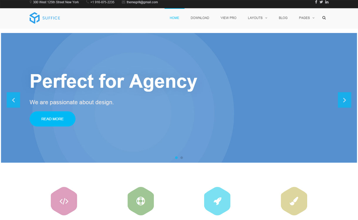 Suffice - Versatile Multipurpose WordPress Theme