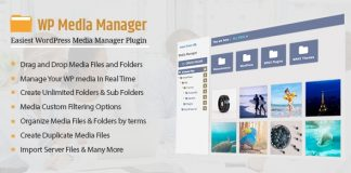 WP Media Manager - Easiest WordPress Media Manager Plugin