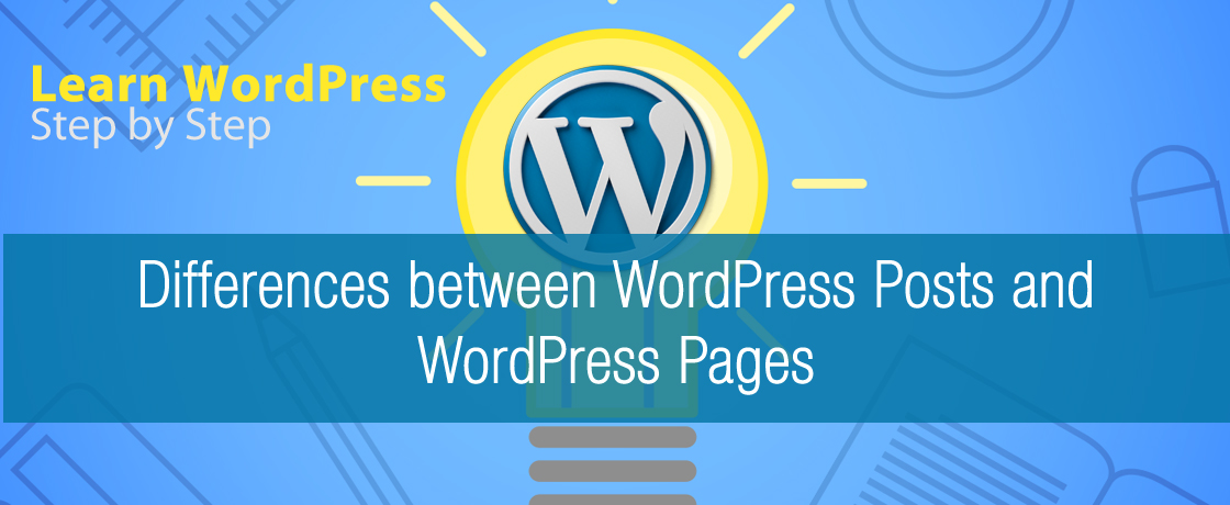 differences between wordpress posts and wordpress pages