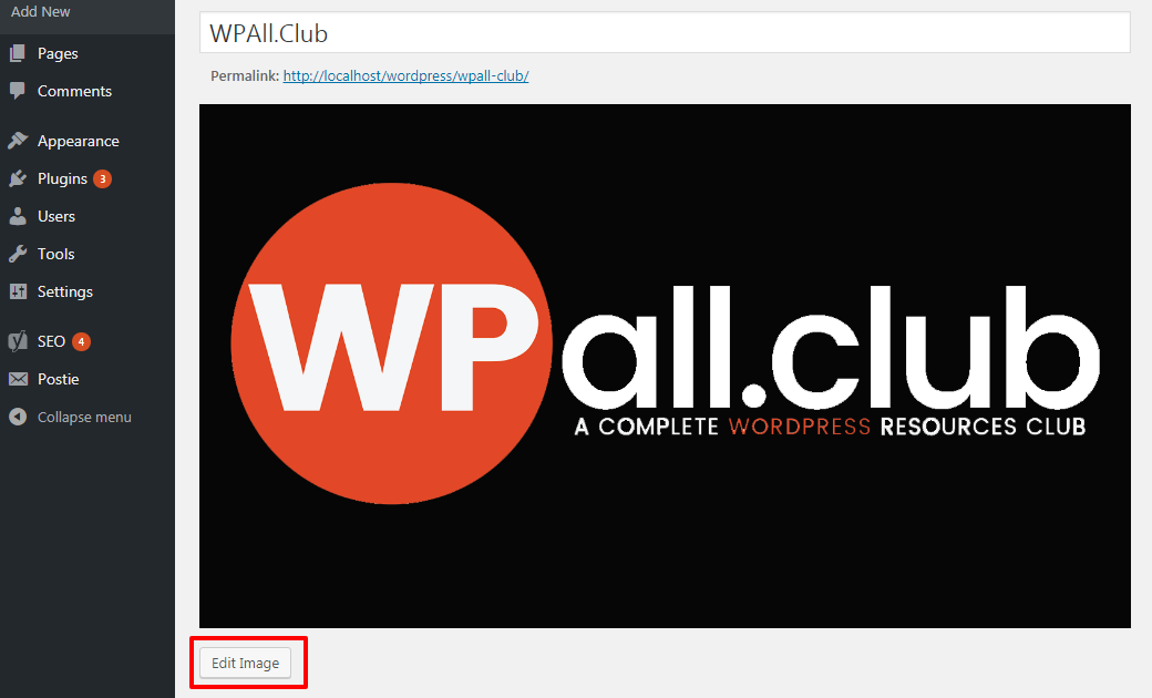 How to Crop Rotate Scale and Flip Images in WordPress 1 - How to edit images in WordPress