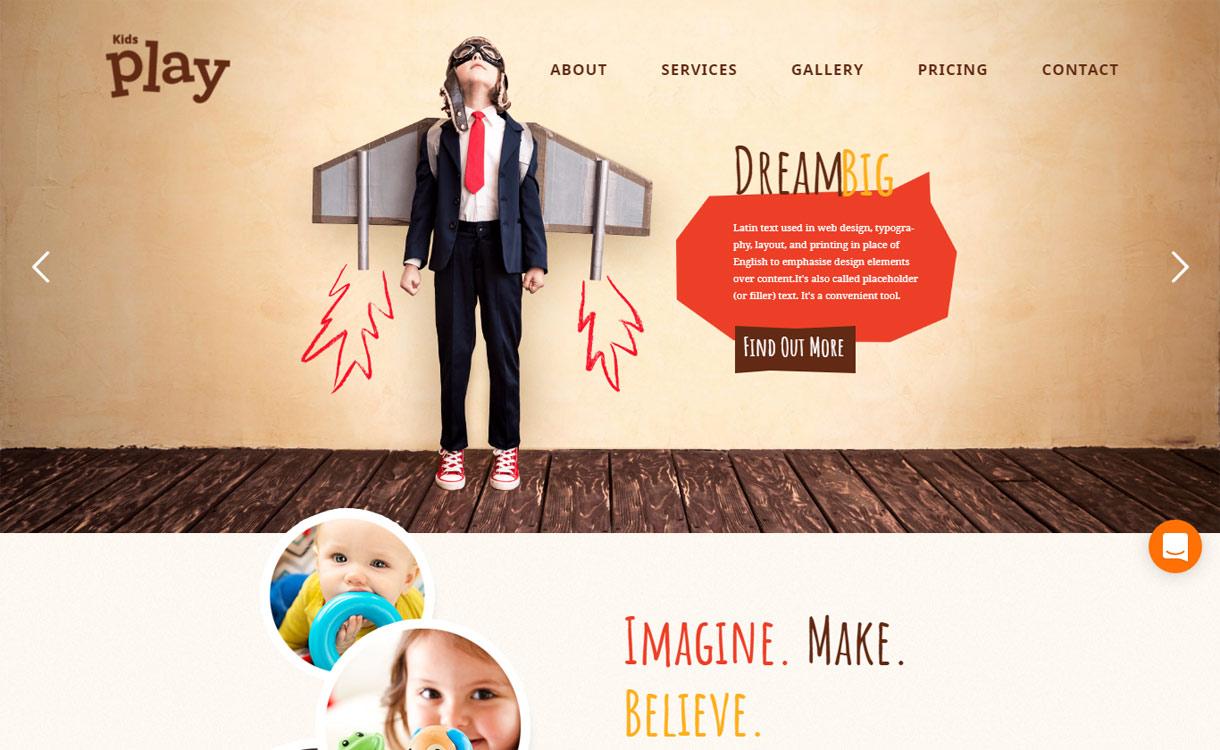 Kids Play - Premium Kindergarten WordPress Theme