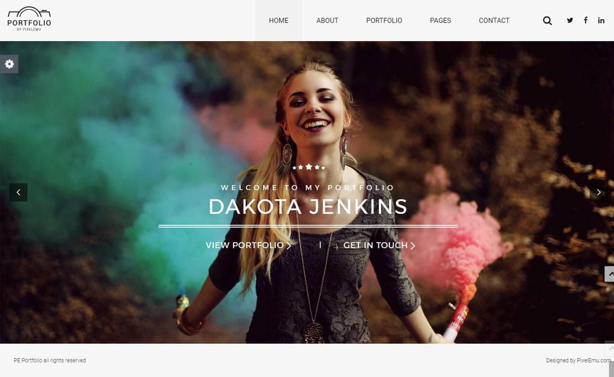 PE Portfolio - Premium Portfolio WordPress Theme