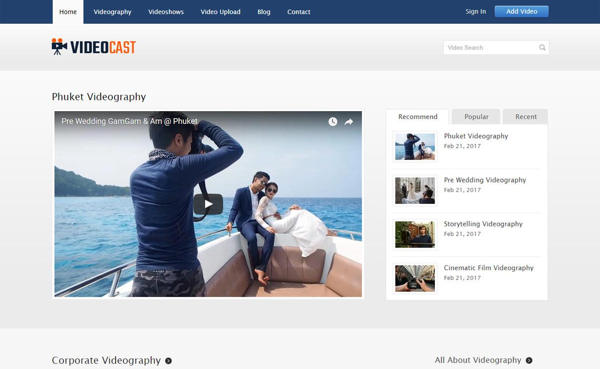 Video Cast - Premium Video Showcase Theme