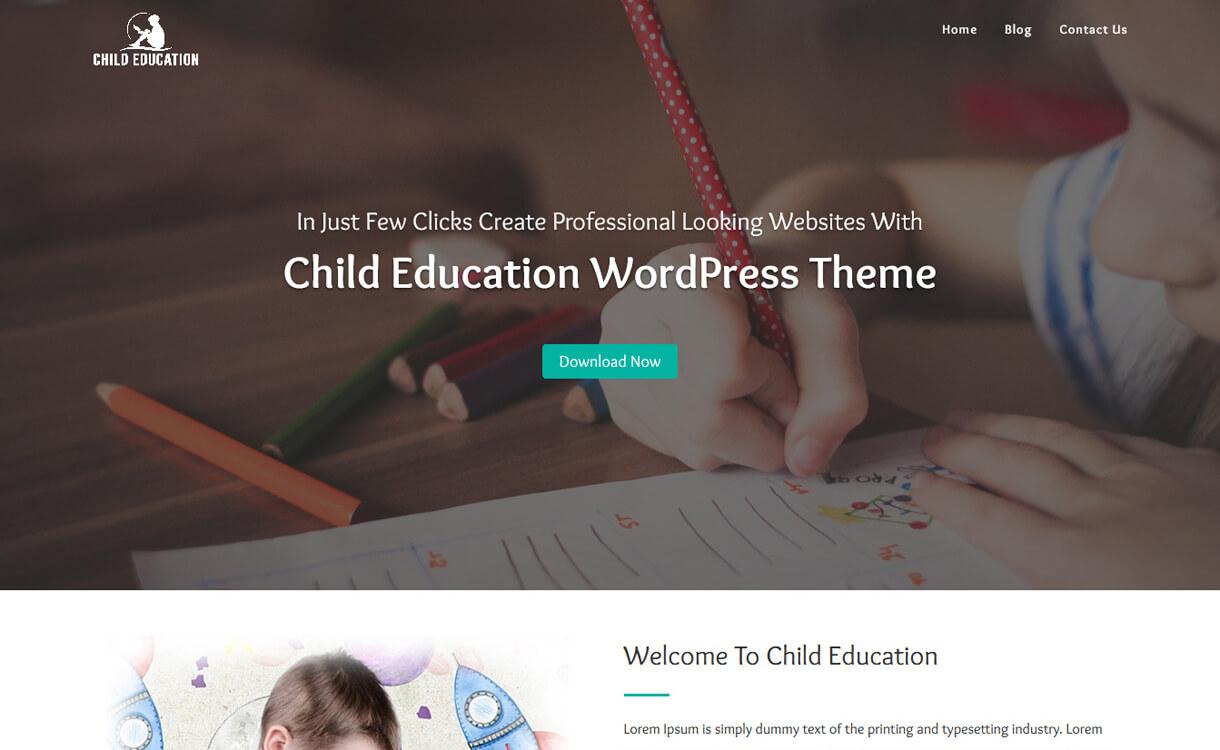 child education free education wordpress theme - 30+ Best Free Education WordPress Themes 2019