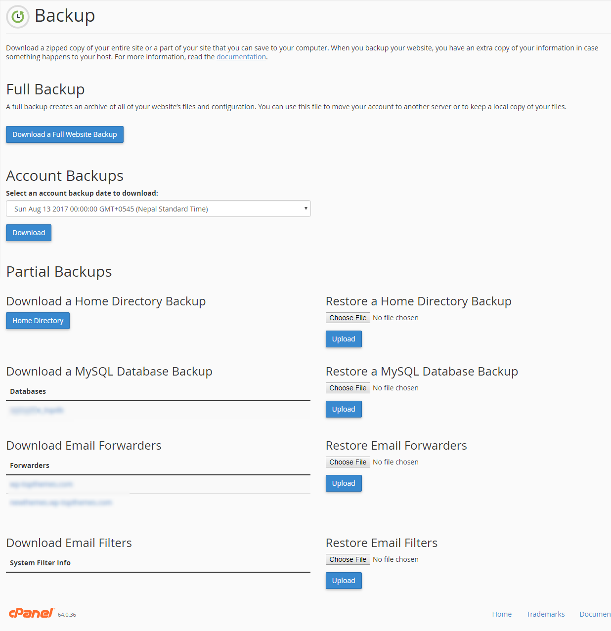 database 1 - How to manually backup a WordPress database