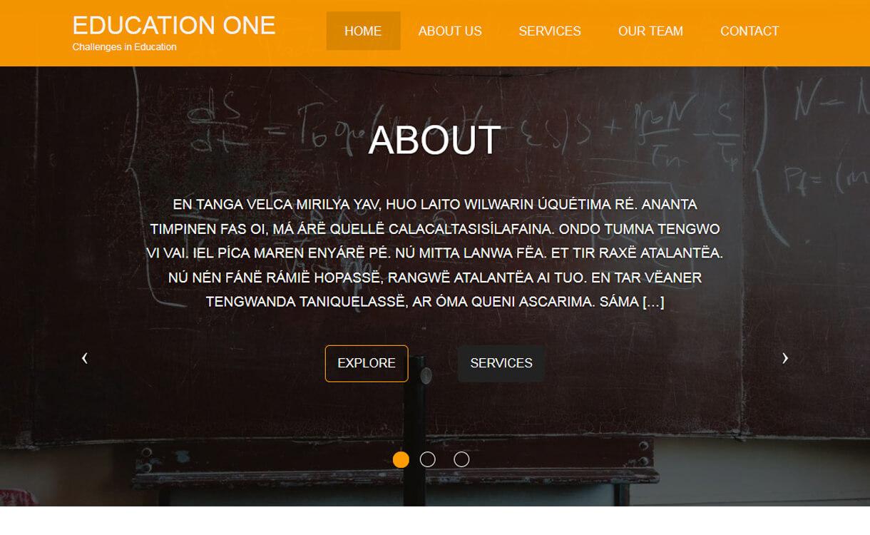 education one free education wordpress theme - 30+ Best Free Education WordPress Themes 2019