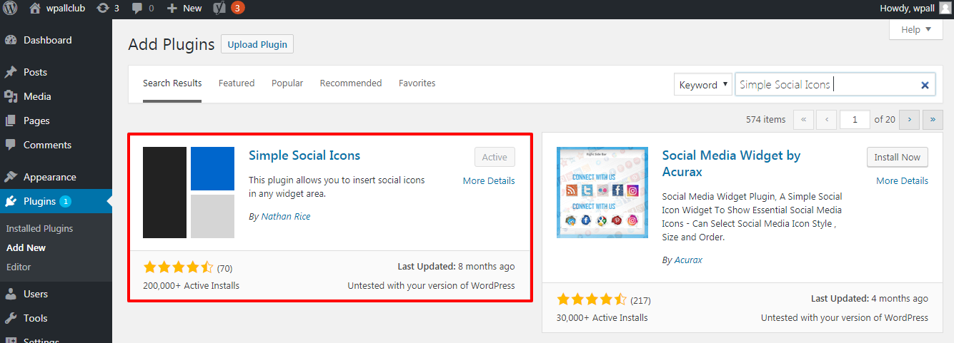 how to add social media icons in your WordPress sidebar - How to add social media icons in your WordPress Sidebar