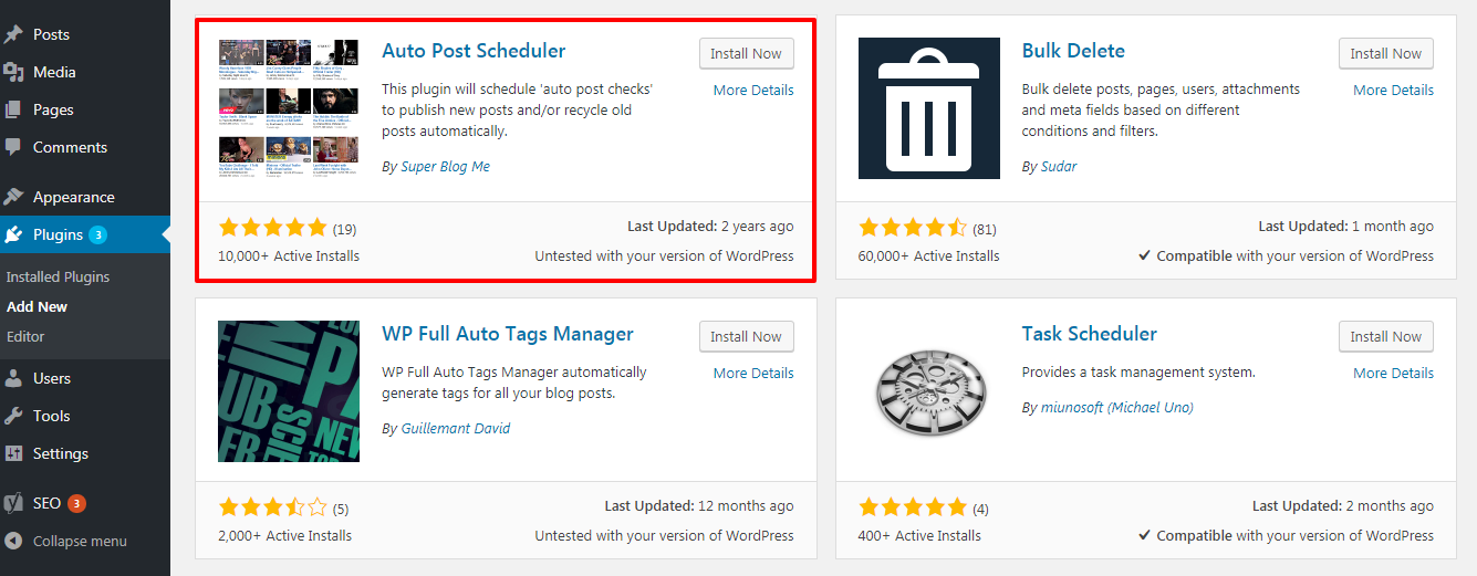 how to schedule your posts in wordpress 3 - Two simple ways to schedule posts in WordPress