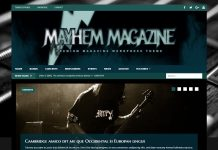 MusicMag - Beautiful Dark Magazine Theme