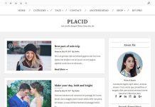 Placid - Free WordPress Magazine Theme