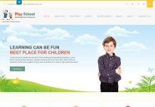 Play School Lite - Free Education WordPress Theme