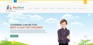 Play School Lite - Free Education WordPress Theme