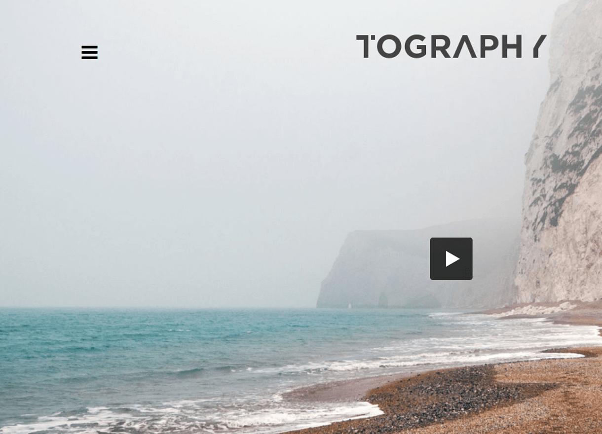 Tography-Best Premium WordPress Photography Themes