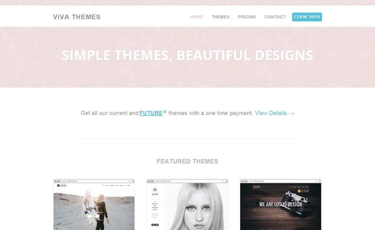 Viva Themes - Awesome WordPress Theme Store