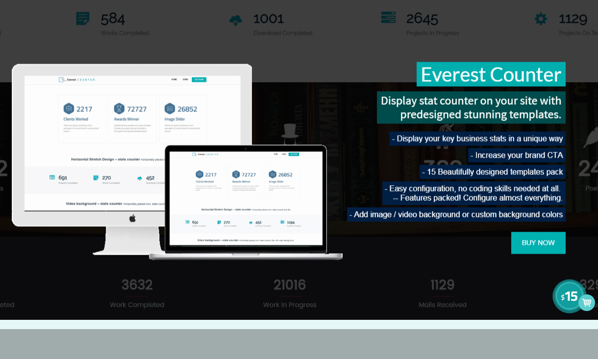 Everest Counter - Beautiful Stat Counter WordPress Plugin