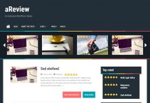aReview - Free WordPress Optimal/Review Theme