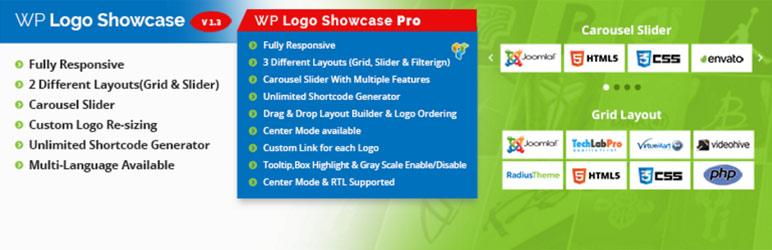 logo slider and showcase wordpress logo gallery plugin - 10+ Free Responsive Clients Logo Gallery WordPress Plugins