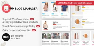 Best WordPress Blog Manager Plugin - WP Blog Manager