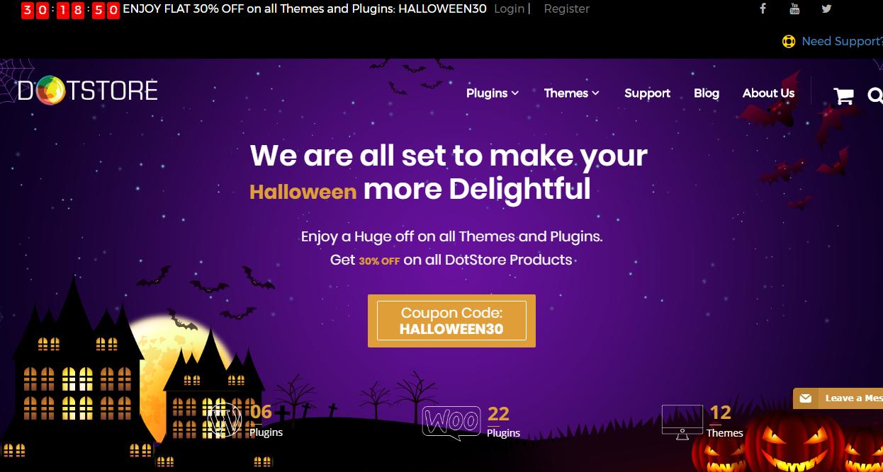 dotstore - WordPress Deals and Discounts for Halloween 2017