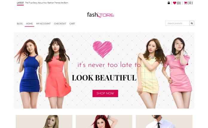 FashStore - Free Fashion/WooCommerce WordPress Theme