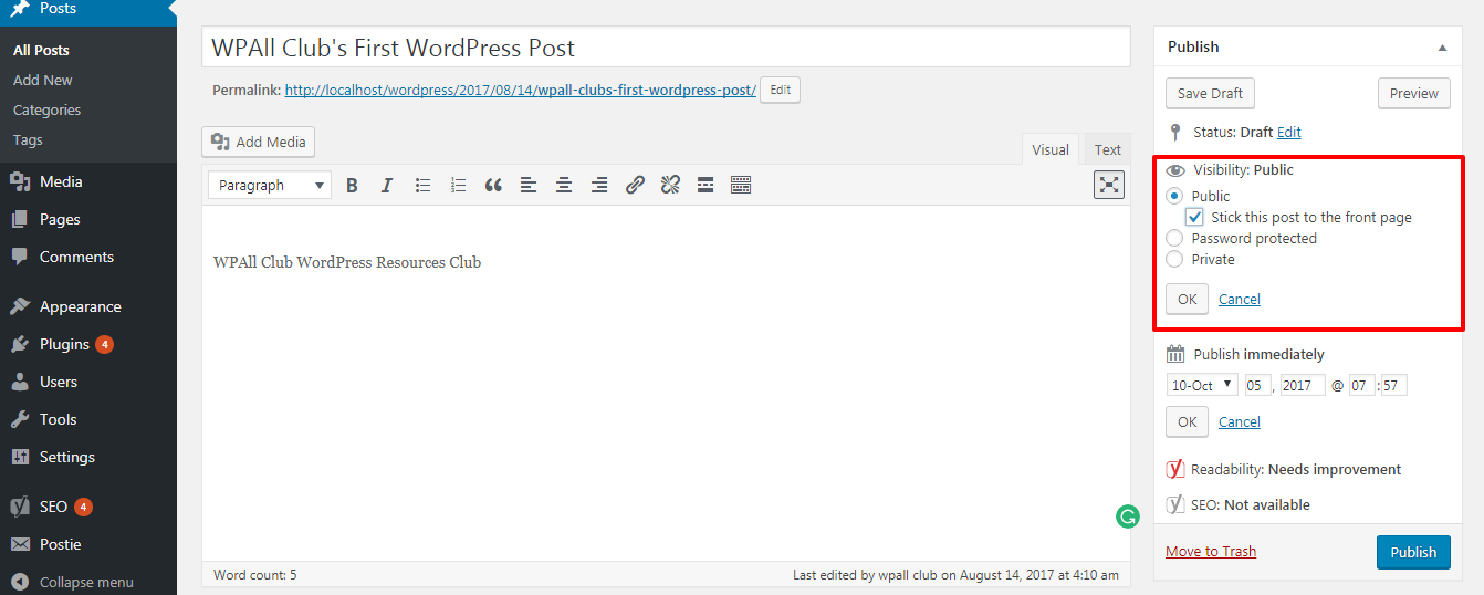 how to make sticky posts in wordpress - How to Make Sticky Posts in WordPress