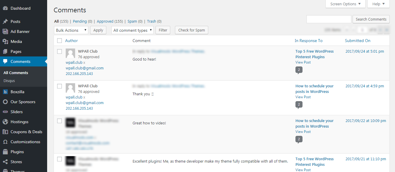 how to moderate comments in wordpress - How to moderate comments in WordPress