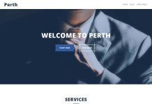 Perth - Free WordPress Business Theme