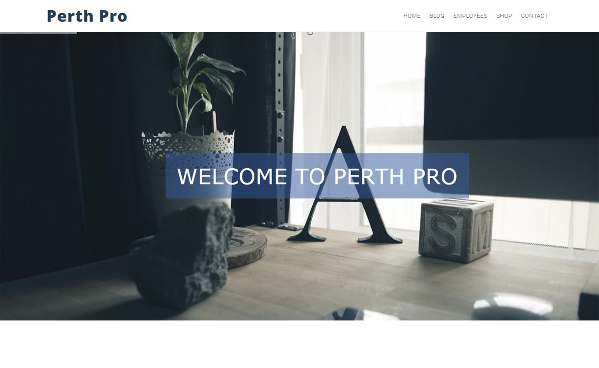 Perth Pro- Premium WordPress Business Theme