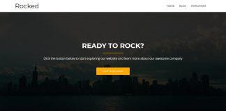Rocked - Free WordPress Business/Corporate Theme