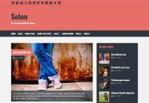Salon - Free WordPress Blog Theme