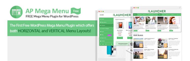 ap mega menu free wordpress mega menu plugin - 5+ Best Free WordPress Mega Menu Plugins