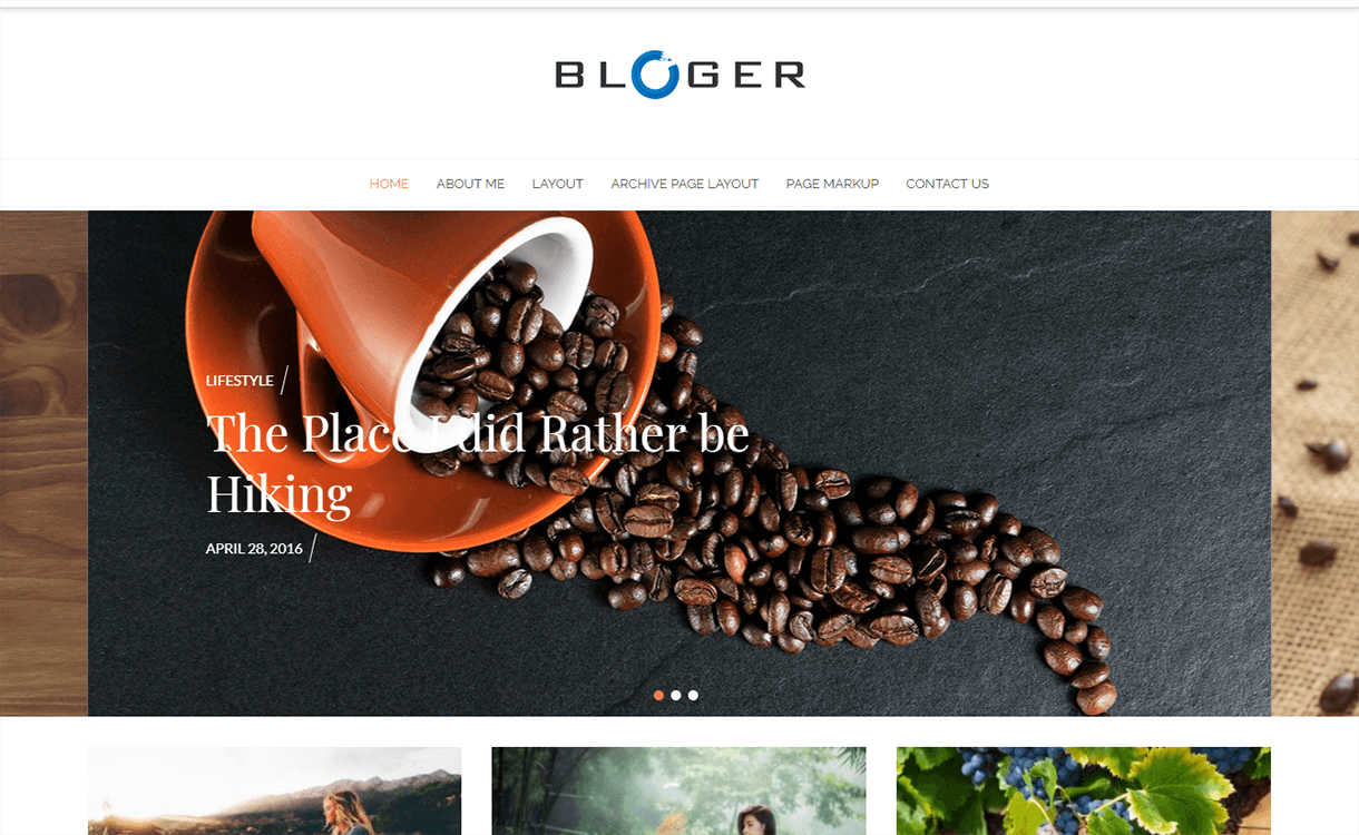 bloger magazine wordpress theme - 25+ Best Free Magazine WordPress Themes For 2019